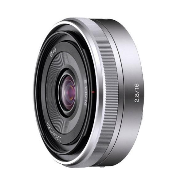 objetivo Sony 16mm 2,8