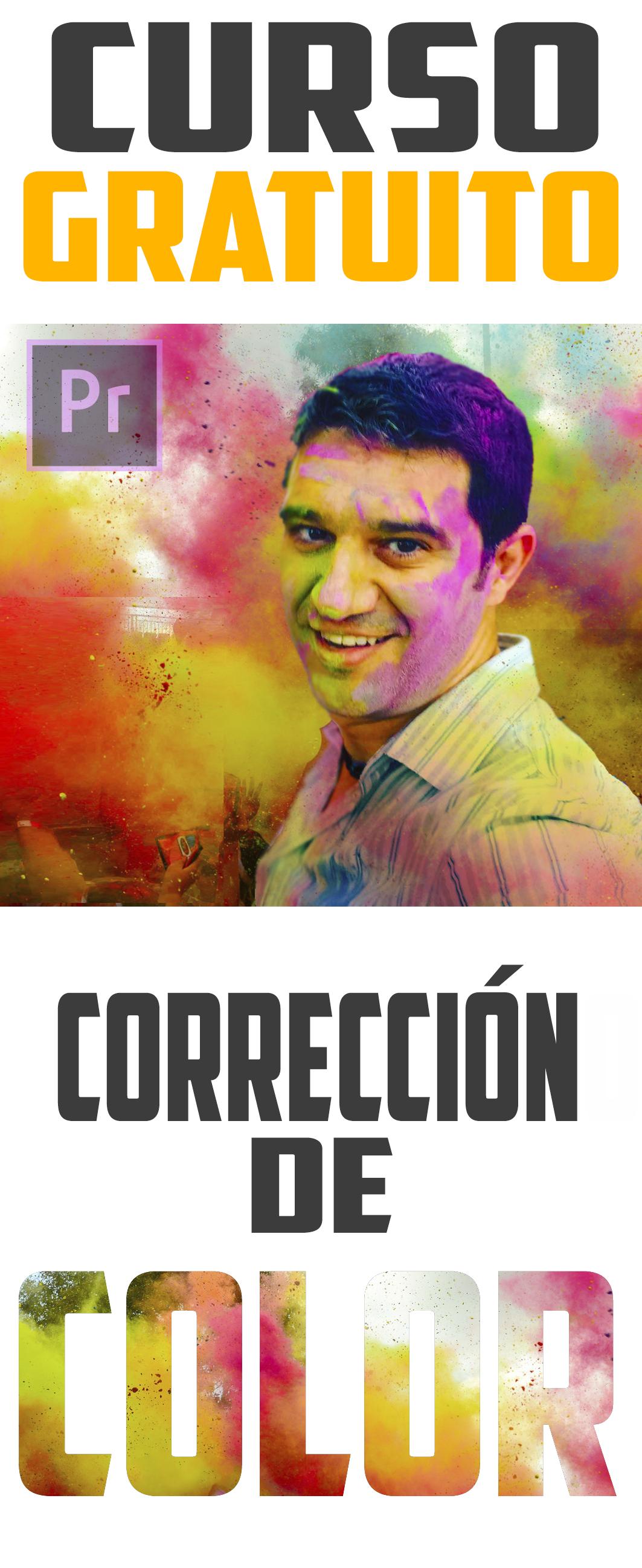 Curso gratuito corrección de color Editalo
