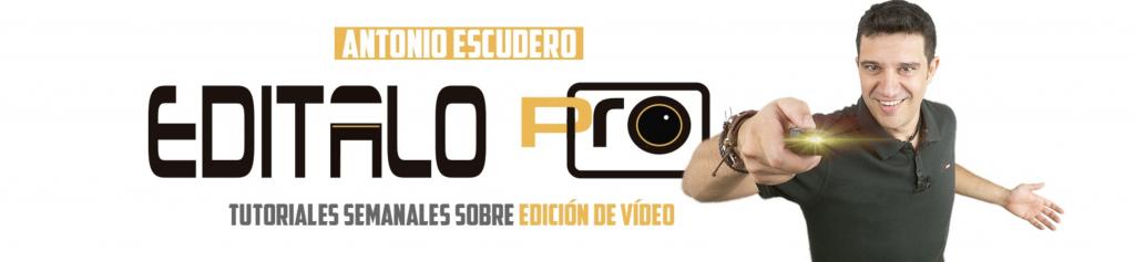 Canal de Youtube Editalo Pro