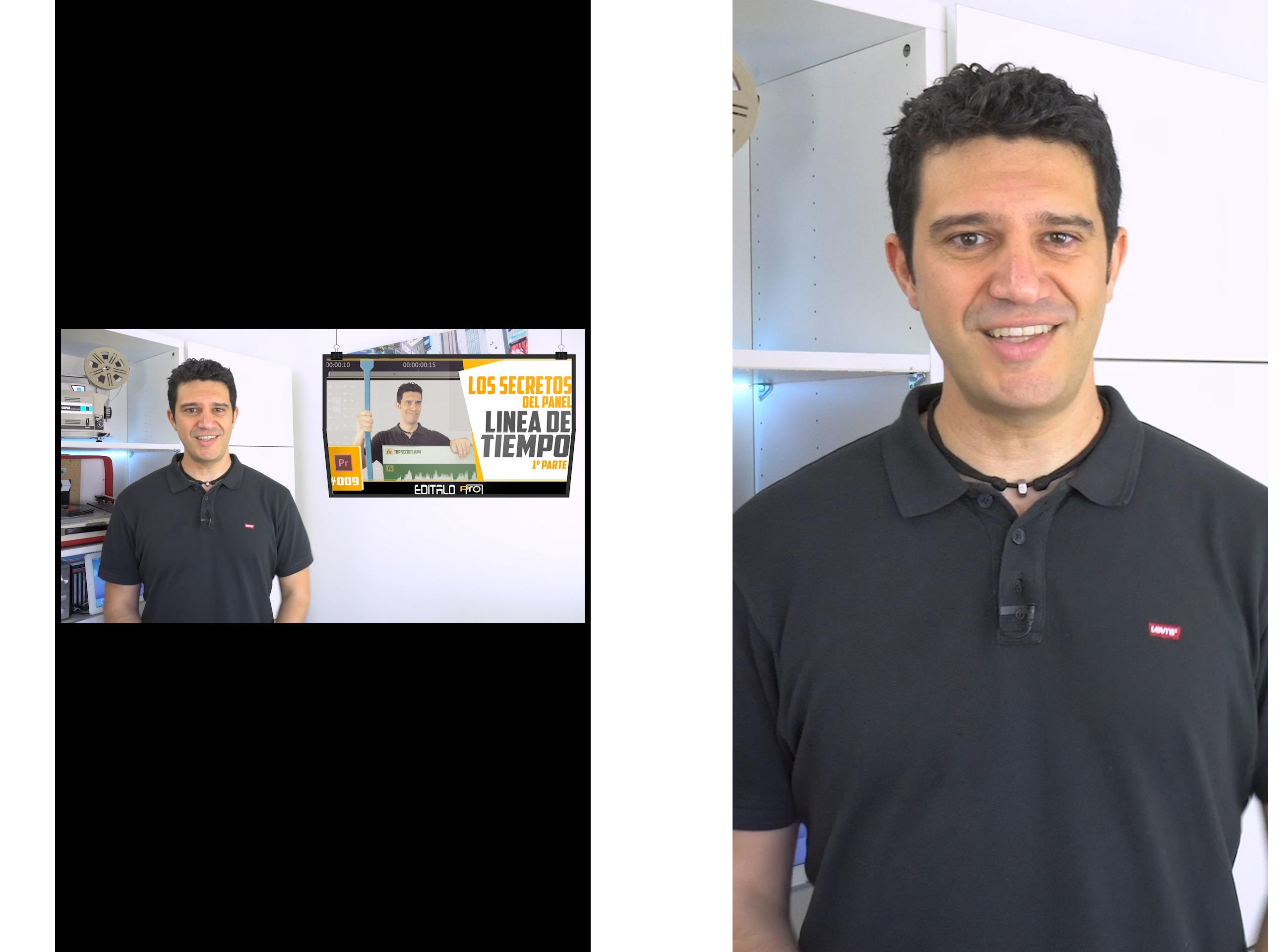 Cambia el tamaño o recorta el vídeo