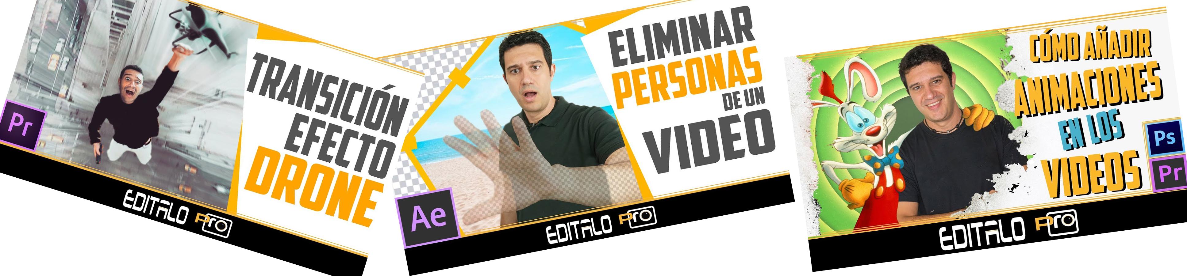 Videos canal YouTube Edítalo pro