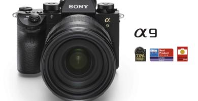 Sony A9 con objetivo