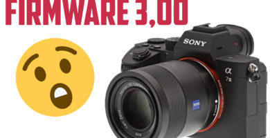Firmware 3,00 Sony A7 III