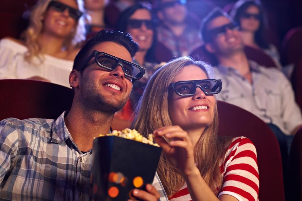 Gafas 3D en el cine