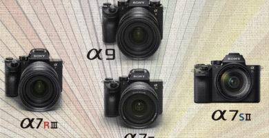 Qué cámara Sony Full Frame comprar