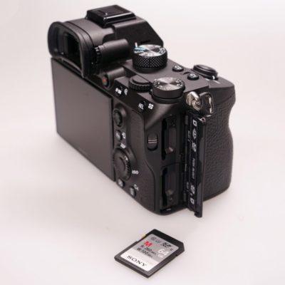 Sony A7 III Doble tarjeta SD