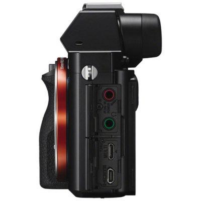 Conexiones laterales cámara Sony