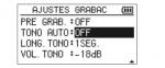Tono Automatico -TASCAM DR05