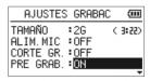 pre-grabación Tascam dr-05