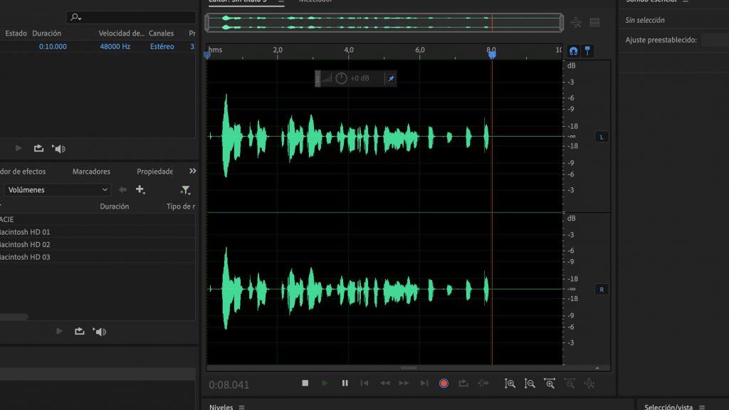 grabar voz en off