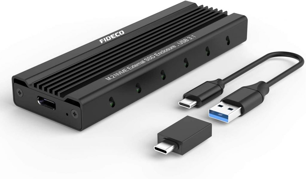 FIDECO M.2 NVME Carcaça Externa SSD