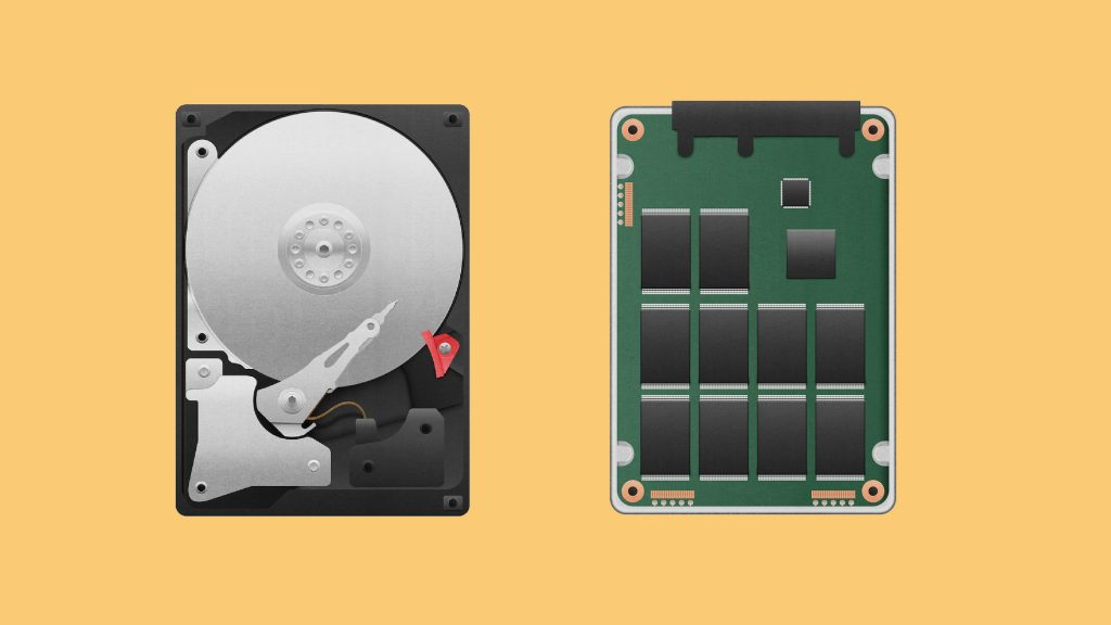 Diferencia entre HDD y SSD